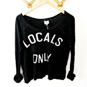 Anthropologie / Locals Only Sweatshirt